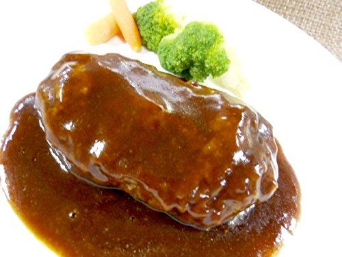 個包装★デミグラスハンバーグ★130g/畜産/豚/鶏/弁当/つまみ/湯煎/冷凍