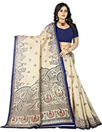 Jaanvi fashion - Sari - para Mujer
