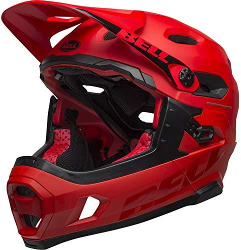Bell Unisex– Erwachsene SUPER DH MIPS Fahrradhelm mat/Gloss Crimson/Black L
