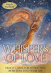 Whispers of Love Oracle: Oracle Cards for attracting More Love into your Life by Angela Hartfield (2013-06-19)