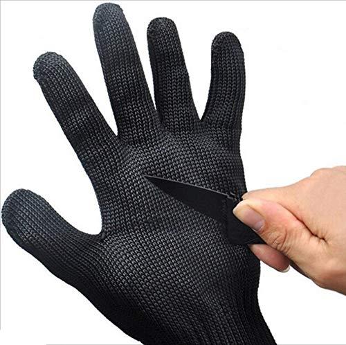 Yantong Gao Protective Cut-Proof Handschuhe verdickt 5 Level Selbstverteidigung Anti-Messer Outdoor Labor Insurance Draht Handschuhe Mehrzweckhandschuhe