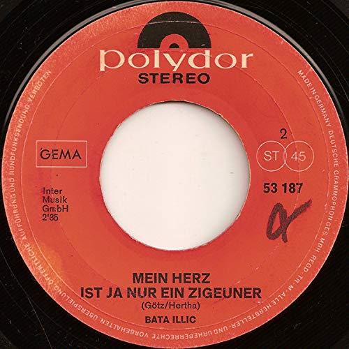 ILLIC, BATA / Schuhe so schwer wie Stein ( Jesus Is A Soul Man) / Mein Herz ist ja nur ein Zigeuner / 1970 / Bildhülle / Polydor # 53 187 / Deutsche Pressung / 7