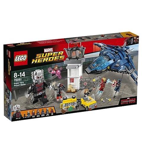 Lego Marvel Super Heroes - 76051 - Jeu De Construction - Super Hero Airport Battle