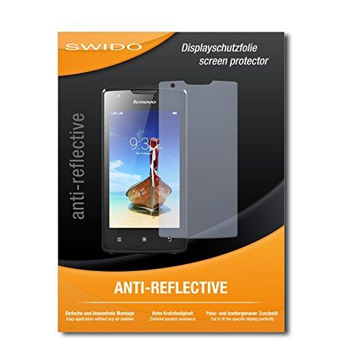 SWIDO Bildschirmschutz für Lenovo A1000 [4 Stück] Anti-Reflex MATT Entspiegelnd, Hoher Härtegrad, Schutz vor Kratzer/Glasfolie, Schutzfolie, Bildschirmschutzfolie, Panzerglas Folie