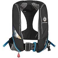Crewfit 180N Pro Auto (Harness) Life Jacket - Black 9025BKA
