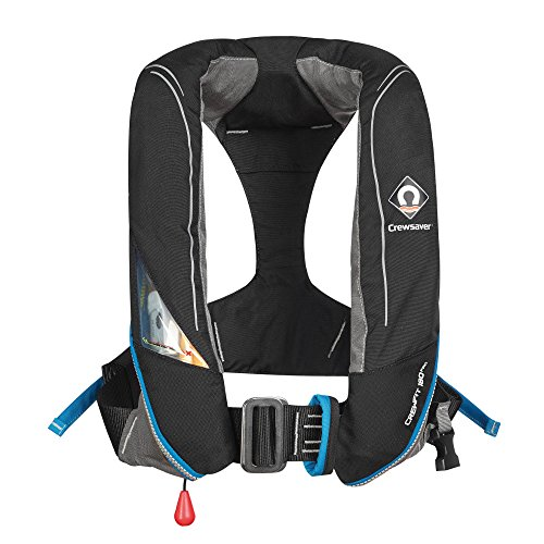 Crewfit 180N Pro Auto (Harness) Schwimmweste - Schwarz 9025BKA