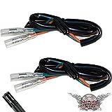 Motorrad Blinker Adapterkabel für Motorrad Modelle Mini Blinker Adapter Kabel Stecker