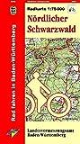 Nördlicher Schwarzwald: R753 Radkarte 1:75000