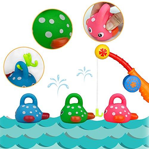Badewannenspielzeug Wasserspielzeug Angelspiel Kleinkindspielzeug Badespaß Spiel Geschenk für Kinder
