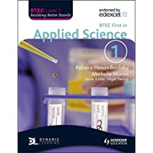 BTEC First in Applied Science Book 1