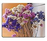 luxlady Naturkautschuk Gaming Mousepads bunt Dry Flowes auf Küche in einem kalten Tag Bild-ID 26146135