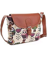 MOLAVE Handbag Bag Female Solid Bags For Girls Owl Printed Women Handbag Satchel Crossbody Tote Shoulder Messenger...