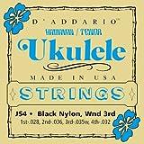 Die besten D'Addario Ukulele Strings - D'Addario J54 Saitensatz Ukulele - Dulcimer -Tenor Gitarre Bewertungen