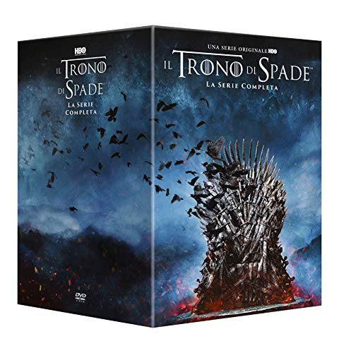 Trono di Spade Stagioni 1-8  (37 DVD)