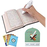 Scripture Reading Pen, Rechargeable Prayer Reading Tool Set with US Plug