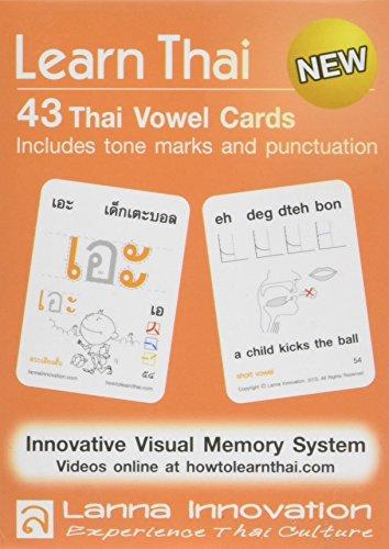 Learn Thai: Thai Vowels - 43 Flash Cards Innovationen Flash