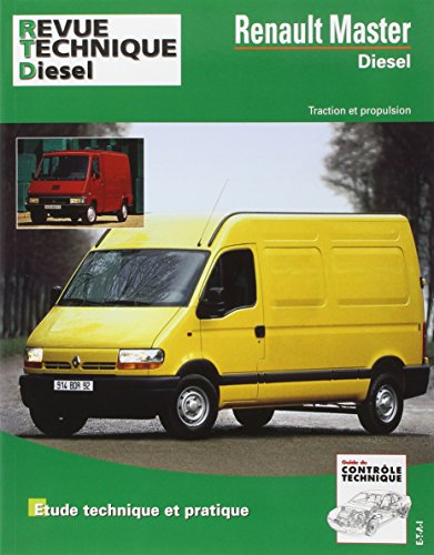 Revue Technique Automobile, CIP 113.7 : Renault master diesel