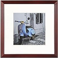 Henzo Umbria 20x20 Frame Rot Marco de Fotos, Madera, Rojo, 20 x 20 x 1.4 cm
