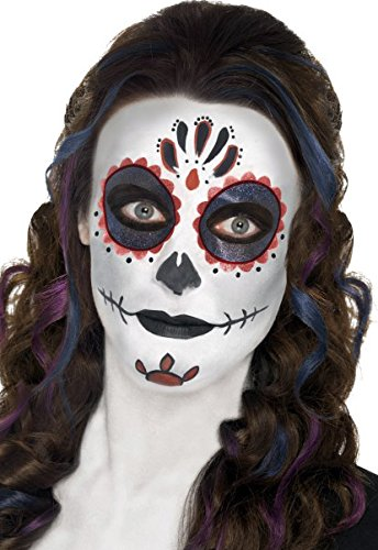 "Grotesk-Schminke ""Day of the Dead"" -Mexiko, makaber, Halloween, Karneval"