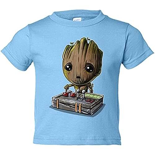 ropa primavera kawaii Camiseta niño Chibi Kawaii Baby Groot parodia