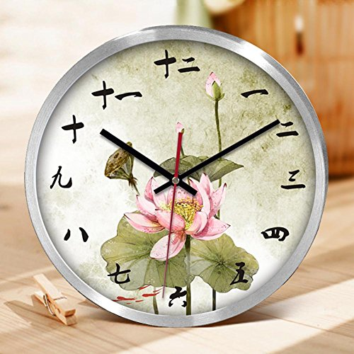 llq-creative-clock-clock-office-living-room-decoration-home-gifts-bell-lotus-bell-face-aluminum-wall