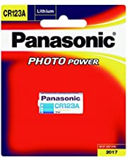 Panasonic Battery Photo Lithium CR123AW/1BE 3V Battery (Multicolor)