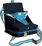 roba Boostersitz, mobiler aufblasbarer Kindersitz als Sitzerhöhung und praktisch für Reisen, petrol/anthrazit, Kollektion 2018 exklusiv