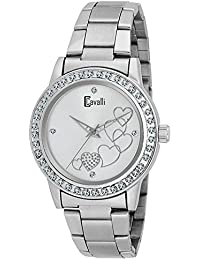 Cavalli Analogue Silver Dial Women'S And Girl'S Love Watch-CW888