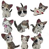 Chi gato juguetes, japonés, diseño de figuras de animales colección de muñecas de Chi...