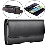 BECPLT Samsung Galaxy Note 9 Custodia Holster Fondina Porta Cellulare Cover Clip per Galaxy Note 9, Galaxy Note 8, iPhone XS Max, iPhone 8 Plus,iPhone 7 Plus,iPhone 6s Plus (Nero)