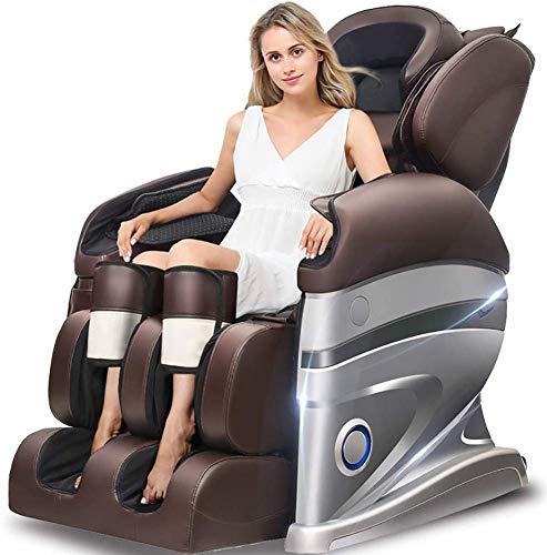 SISHUINIANHUA 3D-Surround-Sound - Air Massagers - Zero Gravity - Wärme-Massage im Rücken-Roll Kneten Massage Die Behandlung von körperlichen Schmerzen reduzieren kann