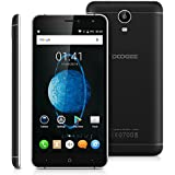 """DOOGEE X7 PRO 4G Smartphone Débloqué VR Supporté 6.0"""" IPS Écran Tactile Multitouche 5 Points 2Go RAM + 16Go ROM Marshmallow MTK6737 Quad Core 1.2GHz Android 6.0 Caméra Arrière SONYIMX1758.0MP Charge Rapide Reconnaissance Intelligente des Gestes Double SIM WIFI Bluetooth GPS OTA - Noir"""