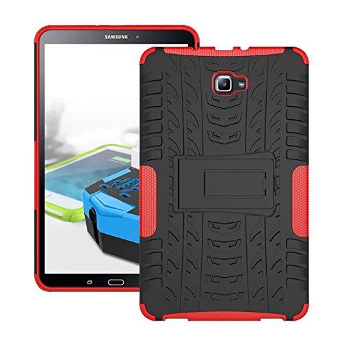 cover silicone tablet samsung Skytar Custodia per Galaxy Tab A 10.1- Protezione in Silicone & PC Duro Stand Cover per Samsung Galaxy Tab A 2016 SM-T580/T585 10.1 Pollici Tablet Custodia