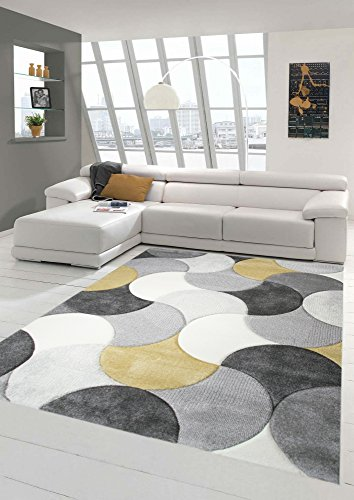 Tapis Carpeto Rugs Tapis Salon Marron 250 X 350 Cm Moderne Vagues
