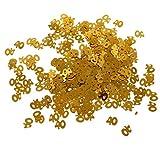 Homyl Folien-Konfetti, Zahlen Form - Gold 40