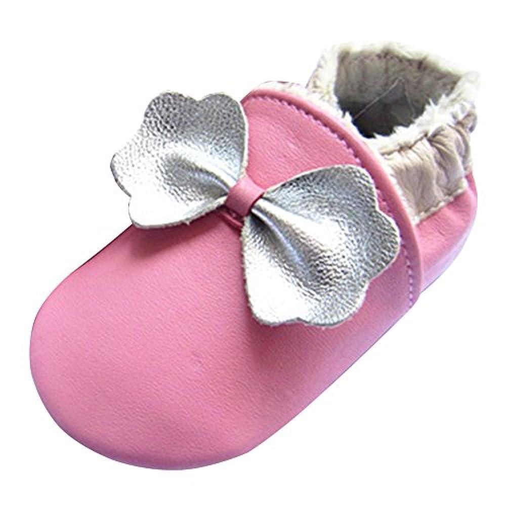 Baby Mädchen Jungen Krabbel-schuhe Leder puschen Lauflernschuhe Motiv Kleinkind