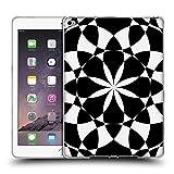 Head Case Designs Offizielle PLdesign Schwarz Und Weiss Geometrisch Soft Gel Hülle für iPad Air 2 (2014)