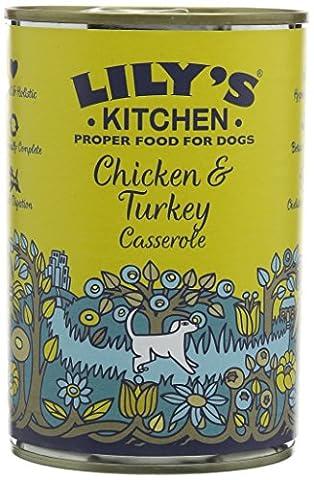 Lily's Kitchen Chicken & Turkey Casserole Dog Food (pack of 6)