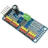 CAOLATOR PCA9685 16-Bit 12-Bit PWM Motorregler IIC Schnittstelle I2C Modul für Arduino Roboter