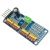 Haodou Servo Treiber PCA9685 16-Kanal 12-bit PWM Motor Treiber I2C Modul IIC Schnittstelle für Arduino Roboter