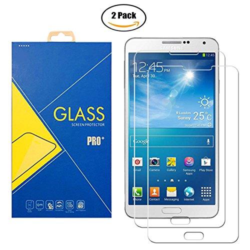 [2 Pack] Pellicola Vetro Temperato Samsung Galaxy Note 3 Neo SM-N7500 / N7505 / 7500 / 7505 - Schermo Antiurto Antigrafio