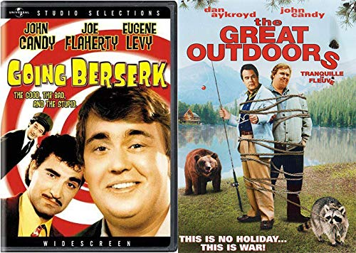 The Extra Special John Candy Collection 2-DVD Bundle - Going Berserk & The Great Outdoors Two Comedy Movie Set