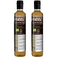Linaza BIO - Aceite Culinario 100% Puro - Certificado Ecológico - 1 Litro (2x500ml)