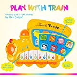 Enlarge toy image: MUSICAL LEARNING TOY For Babies - FREE Alphabet Book. Finest Learning Train Toy With Songs-Numbering-Names & Animal Recognition-Learning Question & Colors. BEST Entertaining Educational Toy Develops Motor Skills & Encourage Exploration In Children. Limited Offer BUY NOW