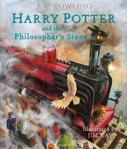 Harry Potter and the Philosopher's Stone. Illustrated Edition par J. K. Rowling