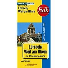Falk Stadtplan Extra Standardfaltung Lörrach/Weil am Rhein