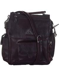 Leatherman Leather Brown Handbag