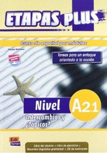 Etapas Plus A2.1 - Libro del alumno por Sonia Eusebio Hermira