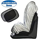 Big Ant Car Seat Sunshade Covers, Infant Car Seat UV Protection Cover ProtectorBonus Car Window Sun Shade Keep Baby Toddler Cool and Safety