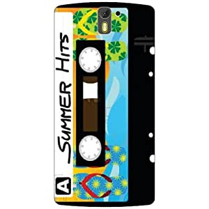 Oneplus One A0001 Back Cover - Audio Cassette Designer Cases